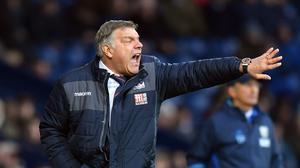 Sam Allardyce's Crystal Palace claimed a hard-fought win at West Brom