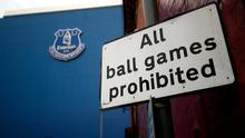 The Merseyside derby is due to be played at Goodison Park over the weekend of June 19-22. Photo: PA