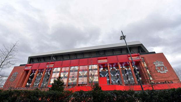Anfield has two registered disabled toilets