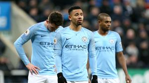 Manchester City were shocked by Newcastle (Richard Sellers/PA)