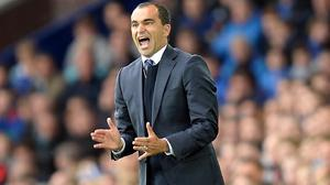 Roberto Martinez's Everton will play seven matches in 23 days