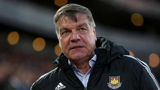 Sam Allardyce has five first-team players out injured