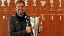 Jurgen Klopp has been named LMA manager of the year (LMA handout/PA)