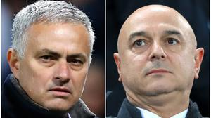 Jose Mourinho (left) is pleased to be working with Daniel Levy (right) (Martin Rickett/Peter Byrne/PA)