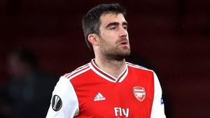 Arsenal defender Sokratis Papastathopoulos has been in and out of the team of late (Adam Davy/PA)
