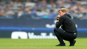 Bournemouth's struggles have taken their toll on Eddie Howe (Catherine Ivill/PA)