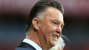 Louis van Gaal will experience his first Manchester derby