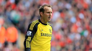 Mark Schwarzer has swapped Chelsea for Leicester