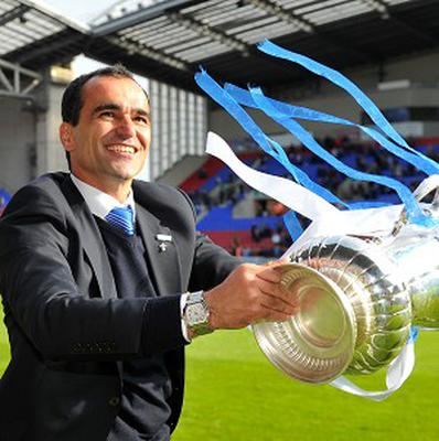 Roberto Martinez has been linked with the Everton job