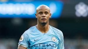 Manchester City captain Vincent Kompany is preparing for the challenge of Liverpool (Martin Rickett/PA)