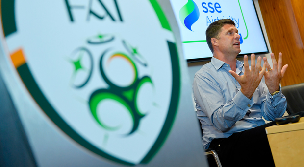 FAI announce Niall Quinn as interim deputy CEO with wide-ranging remit for Irish soccer