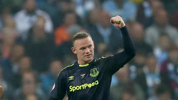 Everton's Wayne Rooney is the record goalscorer for England and Manchester United