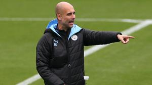 Pep Guardiola is looking for pointers ahead of the visit of Real Madrid (Barrington Coombs/PA)