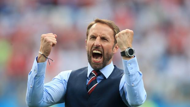 Gareth Southgate's success with England means his name is getting linked with big club jobs (Adam Davy/PA)