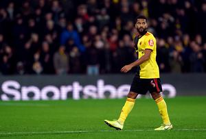 Watford's Adrian Mariappa tested positive for coronavirus, despite showing no symptoms (Tess Derry/PA)