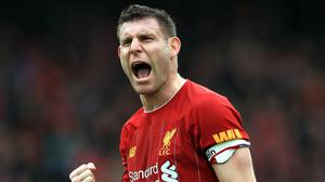 James Milner believes Liverpool's achievements have been taken for granted (Mike Egerton/PA)