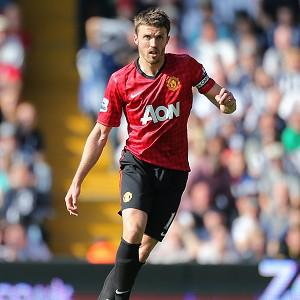Michael Carrick had a fine season for Manchester United