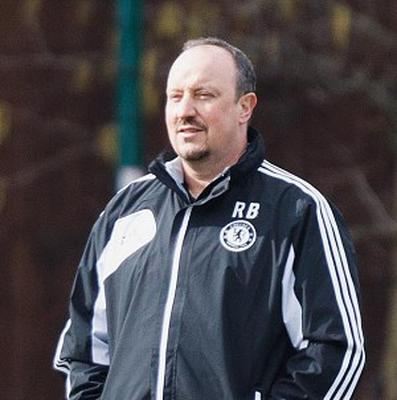 Rafael Benitez's Chelsea are bidding to consolidate their place in the top four