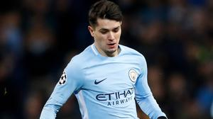 Manchester City's Brahim Diaz is on his way to Real Madrid (Martin Rickett/PA)
