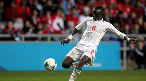 Sadio Mane was forced to take a detour on his journey back to Southampton from Botswana