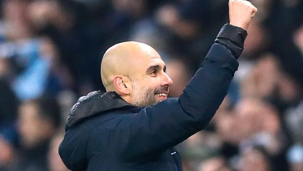 Pep Guardiola's Manchester City pulled themselves back within four points of Premier League leaders Liverpool (Martin Rickett/PA)