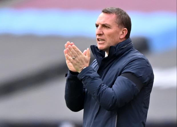 """Leicester City boss Brendan Rodgers: """"The importance of Sunday's game is clear and we don't need to shine a torch on it anymore."""" Photo: Reuters"""
