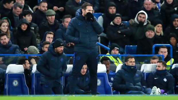 Frank Lampard may be tempted to spend in January (Adam Davy/PA)