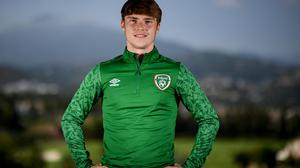 Ireland underage star Luca Connell is attempting to kick-start his career. Photo: Sportsfile