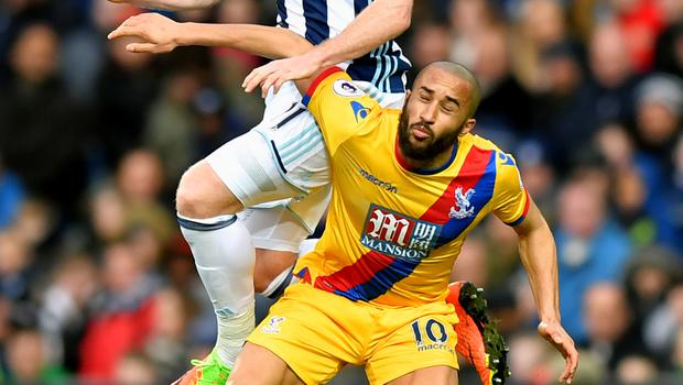 Andros Townsend scored a brilliant solo effort for Crystal Palace