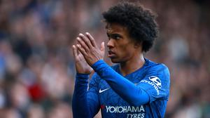 Willian, pictured, has completed his move to Arsenal (Adam Davy/PA)