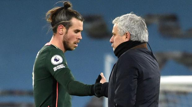 Jose Mourinho, right, thinks Real Madrid have the answers as to why Gareth Bale took so long to find his feet back at Spurs (Rui Vieira/PA)