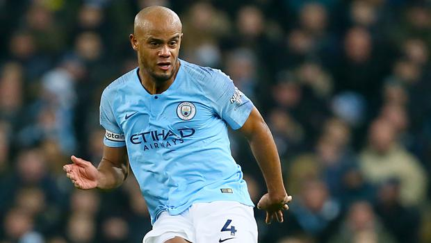 Manchester City captain Vincent Kompany is out of contract this summer (Richard Sellers/PA)