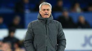 Manchester United manager Jose Mourinho, pictured, hit out at Paul Scholes after a victory at Everton