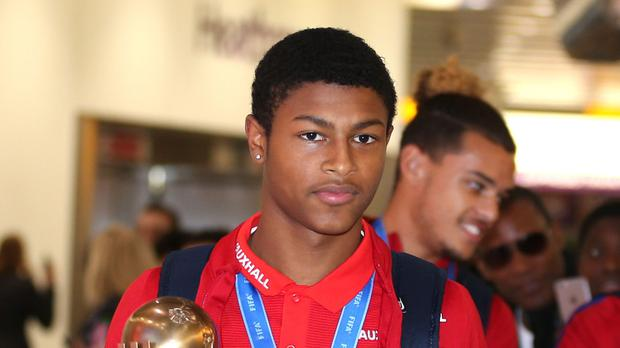 Rhian Brewster helped England win the Under-17 World Cup last year. (Steven Paston/PA)