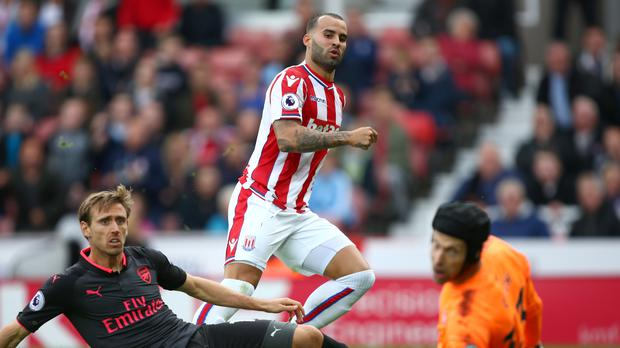 Jese Rodriguez scored a debut goal for Stoke