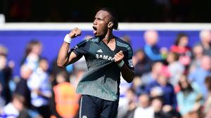 Chelsea's Didier Drogba has an ankle injury, he has said on Twitter