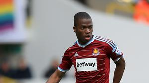 West Ham's Enner Valencia has suffered a freak injury