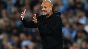 Pep Guardiola will not apologise for his midweek comments about attendances at the Etihad Stadium (Martin Rickett/PA)