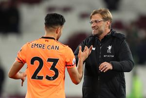 Klopp experienced a similar contract situation with Emre Can three years ago (John Walton/PA)