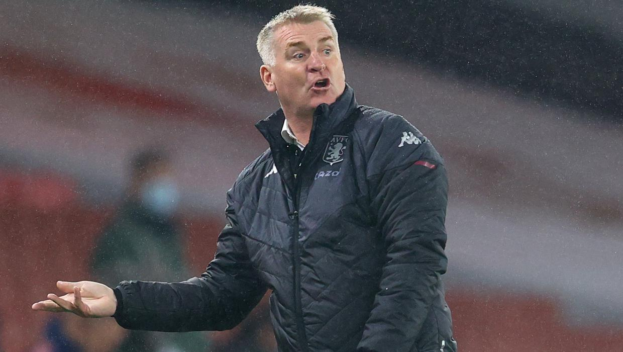 Long dog walks help Dean Smith deal with life as Aston Villa manager