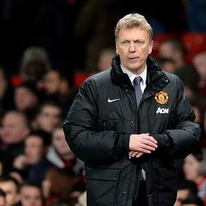 Manchester United manager David Moyes takes his side to The Emirates