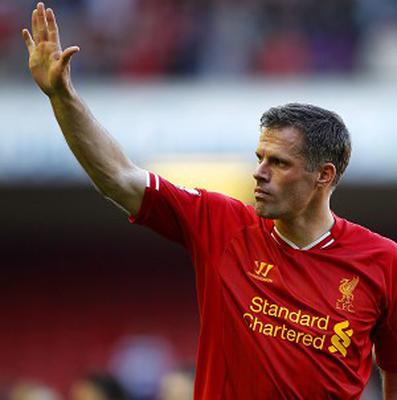 Jamie Carragher described his final match for Liverpool as 'a day I'll never forget'