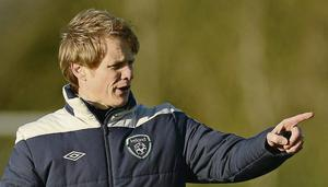Republic of Ireland assistant manager Colin O'Brien