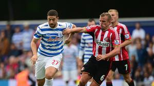 Adel Taarabt, left, has suffered a fresh injury setback at QPR