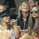 WAGS Cheryl Cole, Coleen McLoughlin and Victoria Beckham at the 2006 World Cup