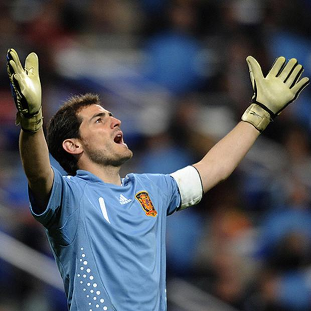 <strong>5:</strong> Iker Casillas <br/> <strong>Team:</strong> Spain <br/> <strong>Age: </strong> 29 <br/> <strong>Nickname:</strong> Saint Iker <br/> <strong>Salary: </strong> €6m <br/> <strong>Club: </strong> Real Madrid <br/> <strong>Position: </strong> Goalkeeper <br/> <strong>What's to love: </strong> There are plenty of options on what aspects of the Spaniard are likely to make you swoon but the winner has to be his sexy, unassuming smile. <br/> He supposedly hates his Nickname and prefers to remain under the radar and until relatively recently, was the only Real Madrid player to use public transport to get to training. He says he's not motivated by money and loves being a role model to kids, taking part in regular charity events. He does however seem to be intent on maintaining his gene pool by only dating excessively attractive women. <br/>