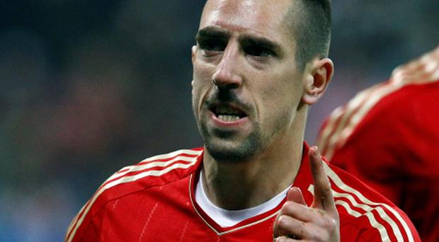 Franck Ribery. Picture: Reuters