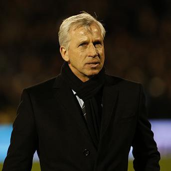 Alan Pardew was assured his Newcastle job was safe despite their recent slump