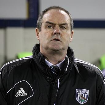 Steve Clarke, pictured, insists West Brom will move on from the Peter Odemwingie saga