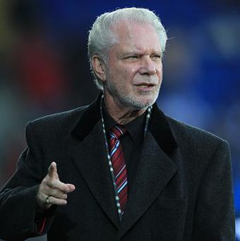 David Gold vented his frustration on Twitter following Aston Villa's win over West Ham